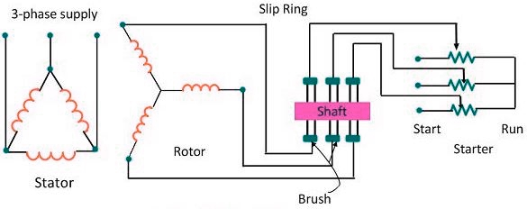 2 Slip Ring or Wound Induction Motor