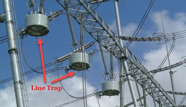 wave trap in a transmission line