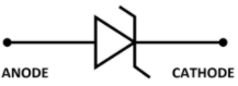 Avalanche diode symbol